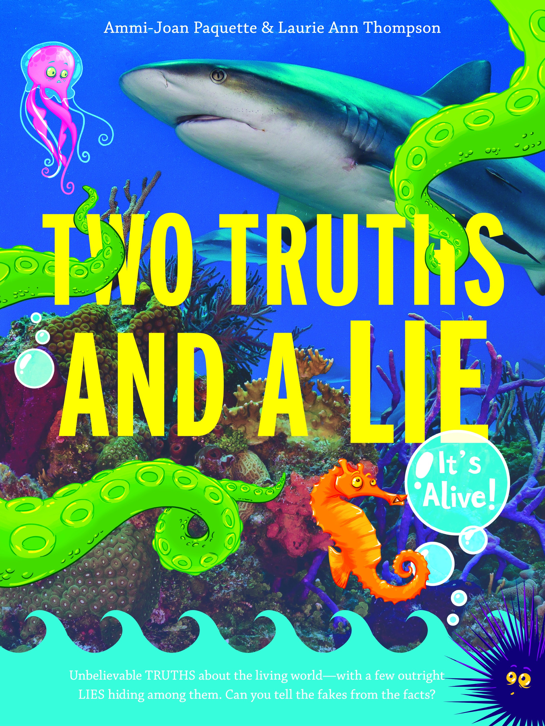 TWO TRUTHS AND A LIE Cover Reveal