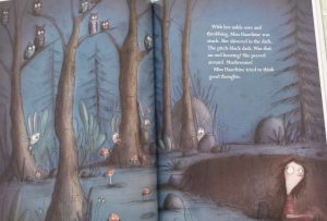 Miss Hazeltine's Home for Shy and Fearful Cats by Alicia Potter, illustrations by Birgitta Sif