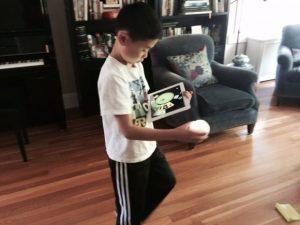 sphero STEM toy for kids to program