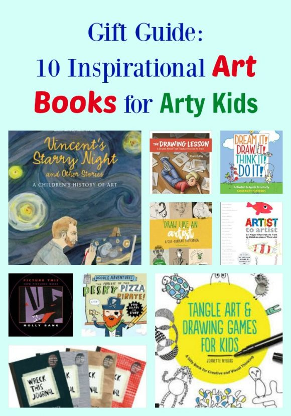 10 Inspirational Art Books for Arty Kids
