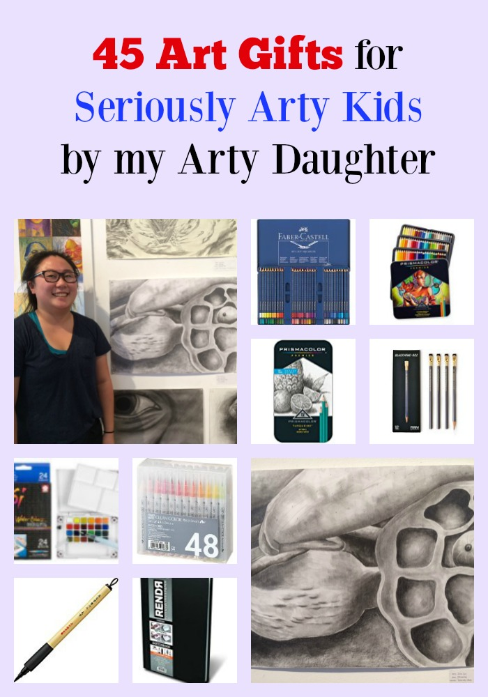 45 Art Gifts for Seriously Arty Kids by my Arty Daughter