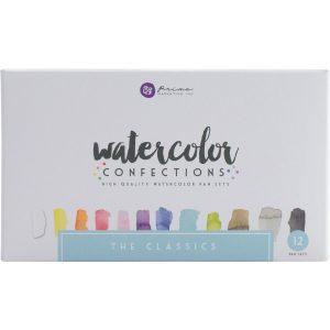 Prima Marketing Watercolor Confections: The Classics