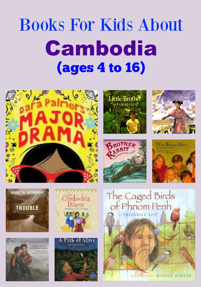 Books For Kids About Cambodia (ages 4 to 16)