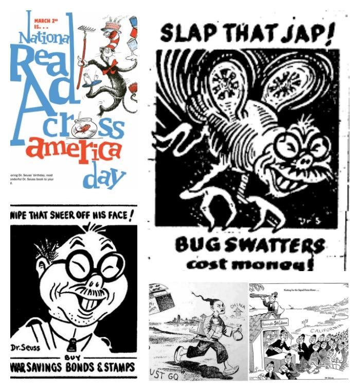 Slap That Jap and Dr. Seuss racist cartoons