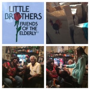 Delivering Thanksgiving Dinner to the Elderly