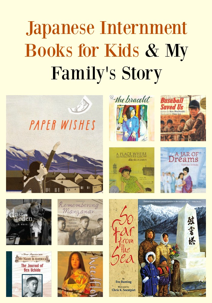 Japanese Internment Books for Kids & My Family's Story