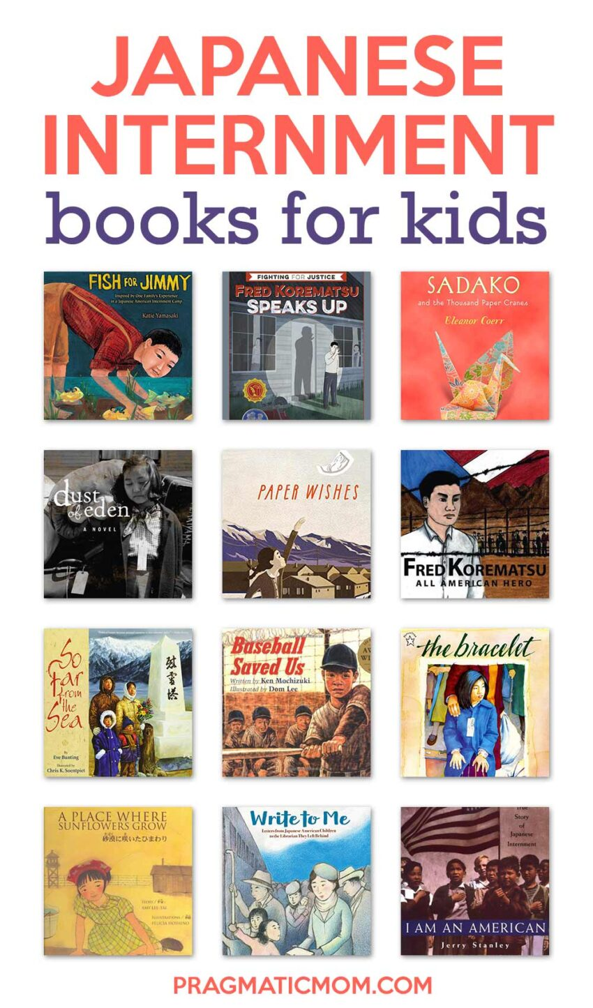 Japanese Internment Books for Kids