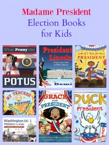Madame President Election Books for Kids