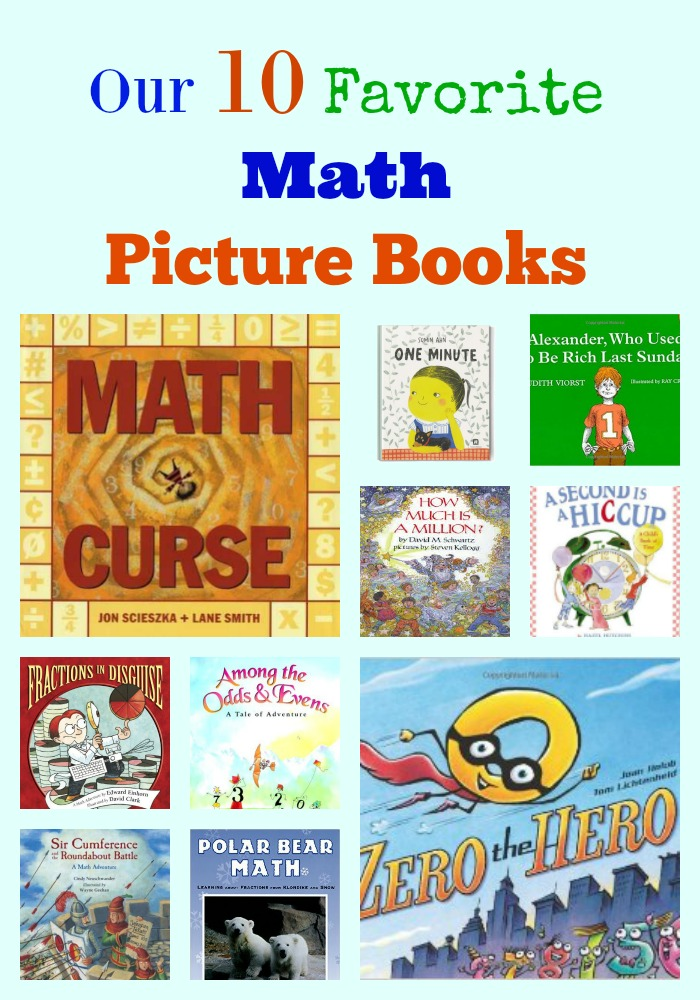 Our 10 Favorite Math Picture Books