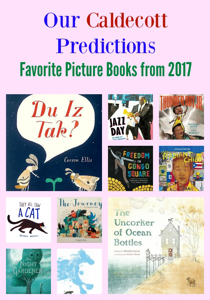 Our 2017 Caldecott Predictions