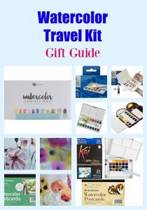 Watercolor Travel Kit Gift Guide