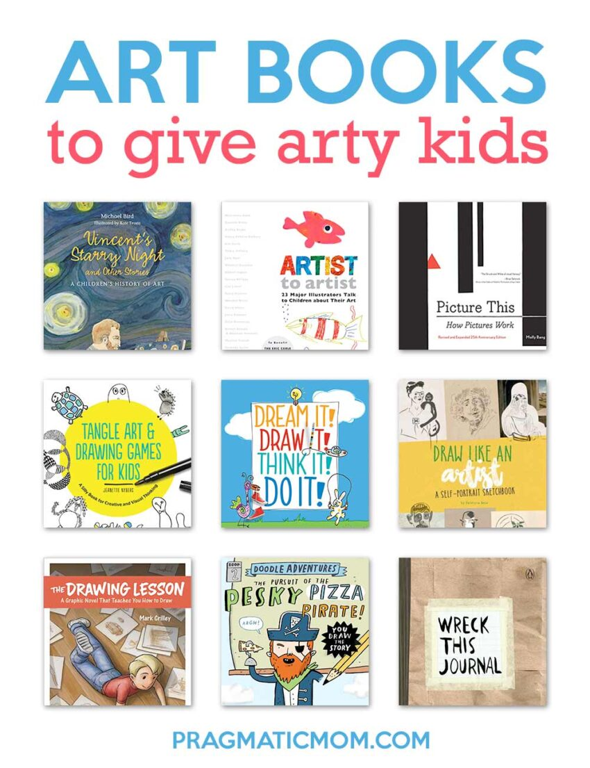 Inspirational Art Books for Arty Kids