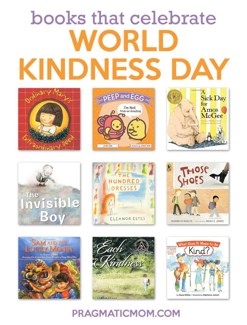 Books that Celebrate World Kindness Day