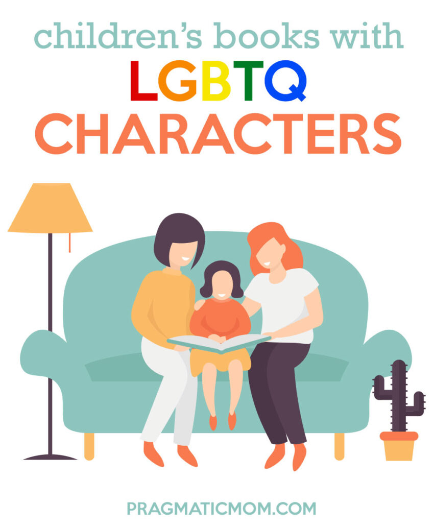 Favorite Children's Books Featuring a LGBTQ Character