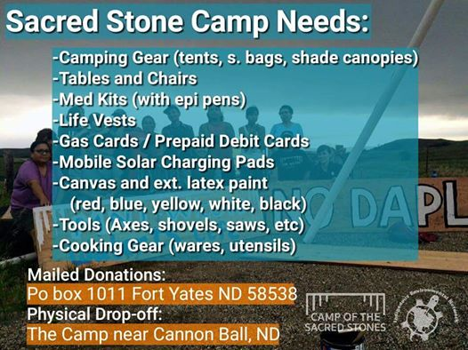 Sacred Stone Legal Defense Fund