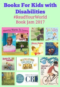 Books For Kids with Disabilities: Jo Meserve Mach & GIVEAWAY