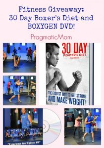 Boxing fitness giveaway