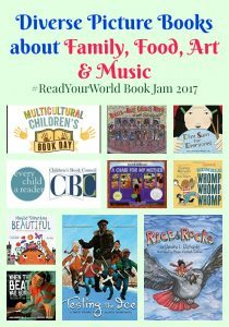 Diverse Picture Books about Food & GIVEAWAY
