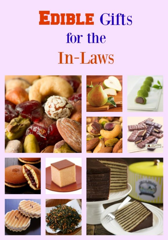Edible Gifts for the In-Laws