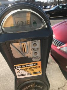 feed a stranger's parking meter act of kindness