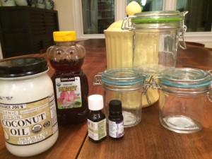 DIY Lemon Coconut Body Scrub