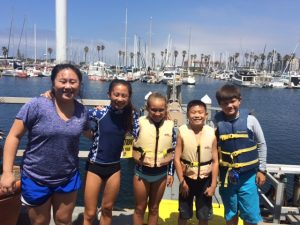 stand up paddleboard in Redondo Beach