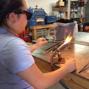 Glass Blowing with My Girls