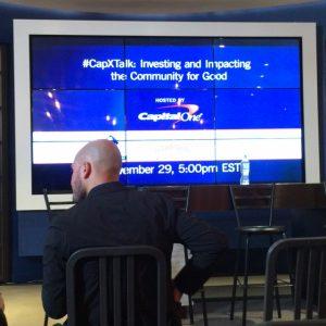 #CapXTalk Boston on #GivingTuesday
