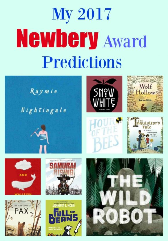 My 2017 Newbery Predictions