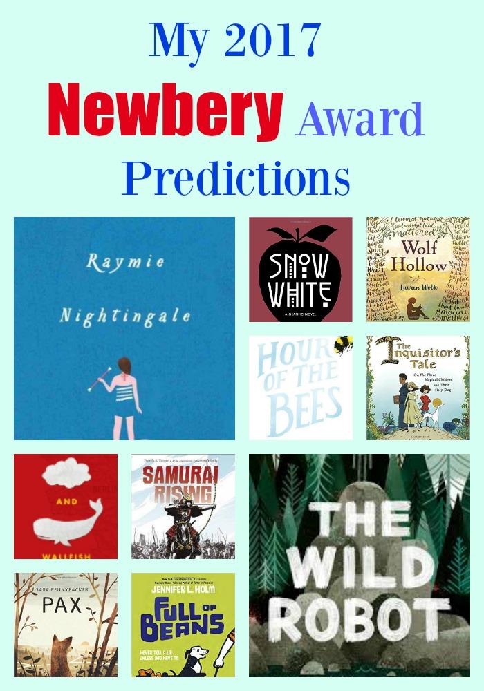 My 2017 Newbery Predictions