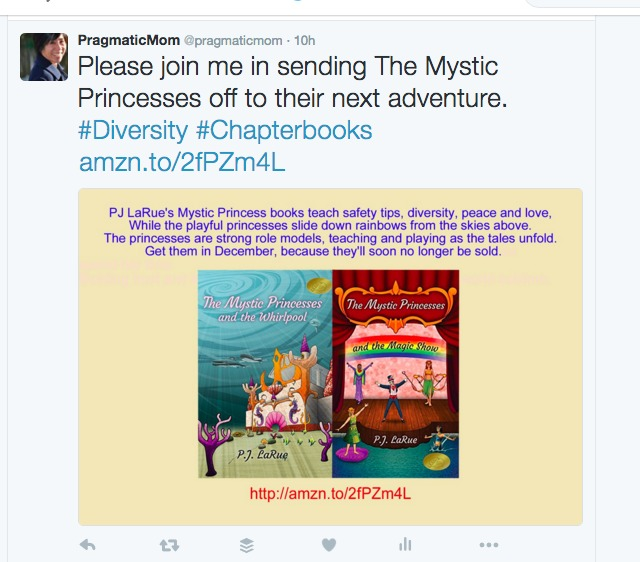 tweet to help diversity KidLit author
