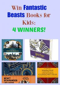 Win Fantastic Beasts Books for Kids: 4 WINNERS!