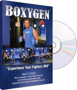 BOXYGEN cardio boxing fitness DVD