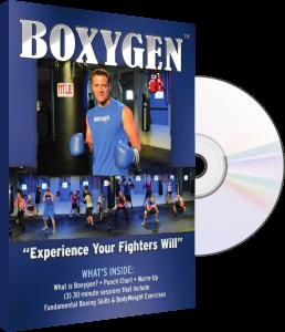 BOXYGEN cardio boxing fitness DVD