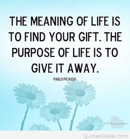 giving back quote