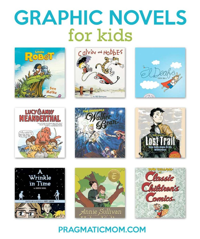 Amazing Graphic Novels for Kids