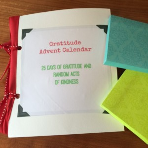 DIY Advent Gratitude Calendar