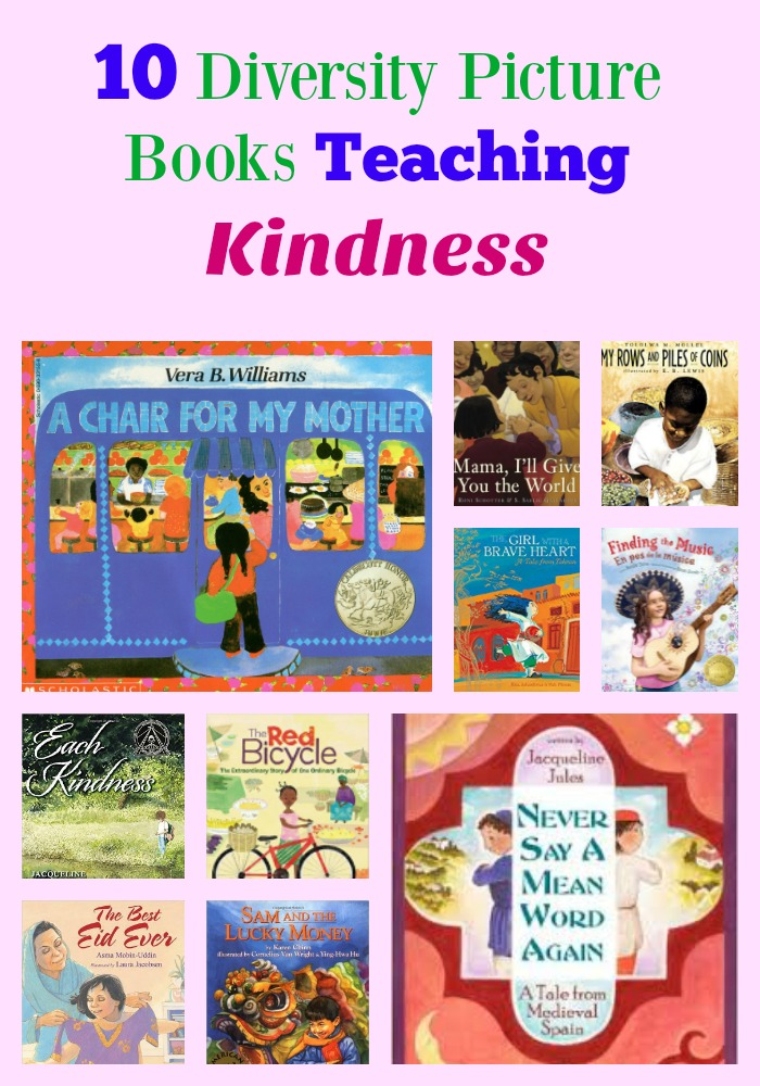10 Diversity Picture Books Teaching Kindness