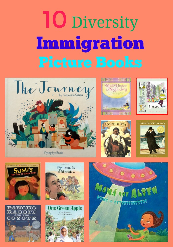 10 Immigration Picture Books