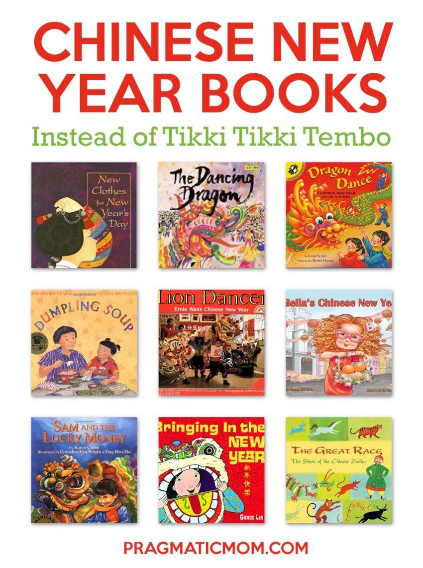 Chinese New Year Books Instead of Tikki Tikki Tembo