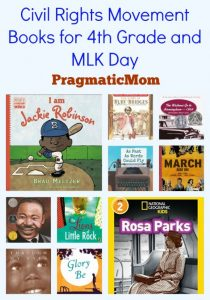 Civil Rights Movement Books for 4th Grade and MLK Day