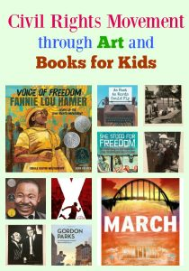 Civil Rights Movement through Art and Books for Kids