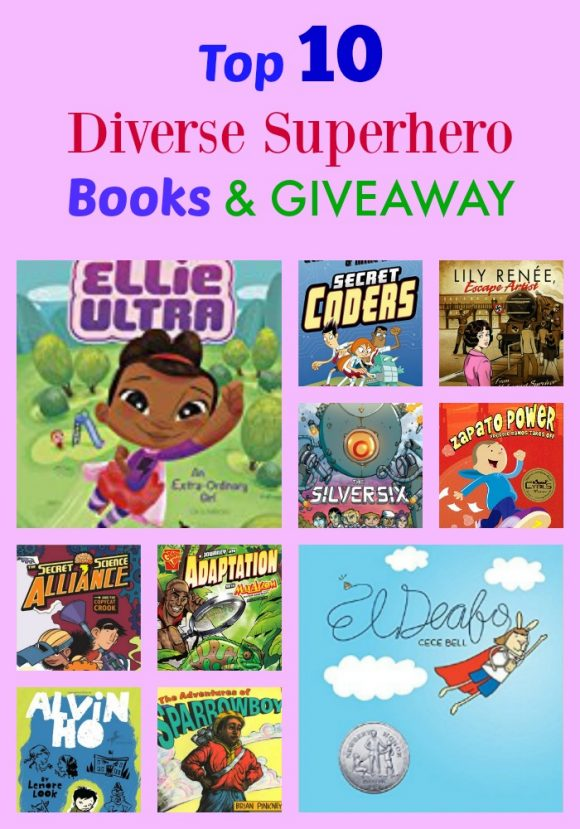 Top 10 Diverse Superhero Books & GIVEAWAY