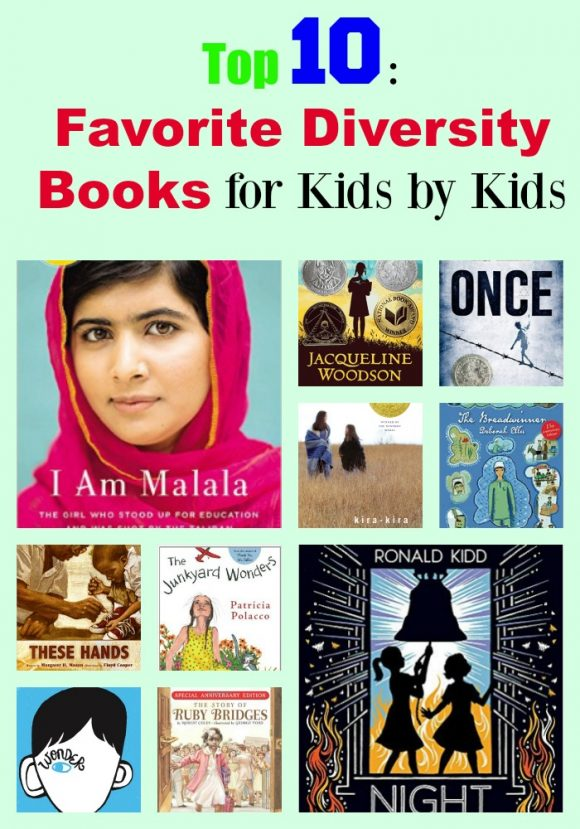 Top 10: Favorite Diversity Books from Kid Book Reviewer