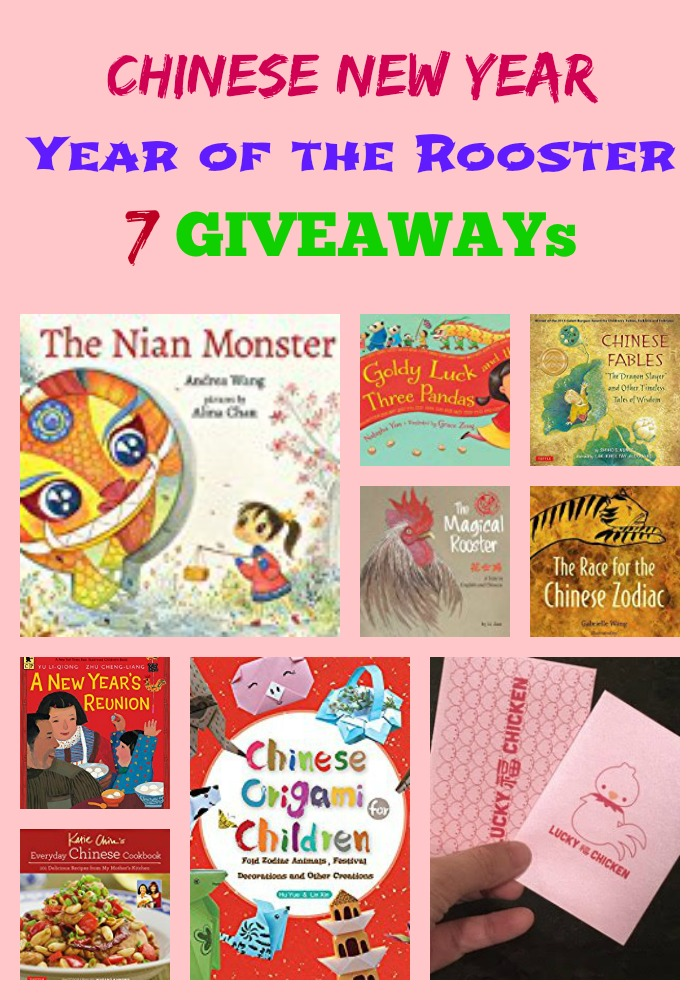 Year of the Rooster Book GIVEAWAYS: 7 Winners!