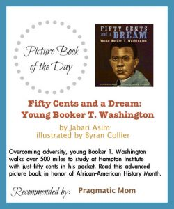 Picture Book of the Day: Booker T Washington