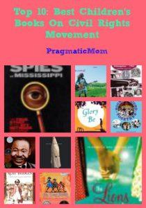 Top 10: Best Children's Books On Civil Rights Movement
