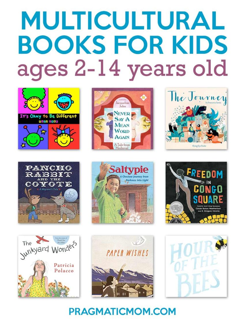 10 Multicultural Books For Kids Ages 2-14