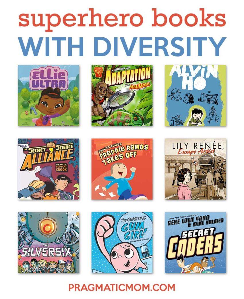 Diverse Superhero Books