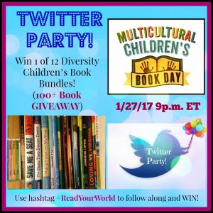 Multicultural Children's Book Day Twitter Party 2017 and book giveaways!